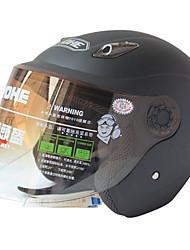 836-R109 høj kvalitet ultraviolet-bevis halvdel face hjelm (sort)
