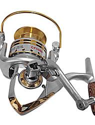 billige -Fiskehjul Spinne-hjul 5.5:1 5 Kuglelejer Højrehåndet / ombyttelig / Venstrehåndet Havfiskeri / Madding Kastning / Ferskvandsfiskere -