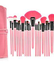 cheap -Make-up For You® 24pcs Makeup Brushes set  Limits bacteria/Professional  Pink Blush/shadow/Lip/Lash/Liner/Powder/Concealer/Foundation Brush Tool