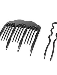 economico -2 pezzi di capelli Twist Forcella (di piccola dimensione)
