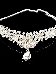 cheap -Crystal Rhinestone Tiaras 1 Wedding Special Occasion Headpiece