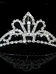 Žene Prodavačica cvijeća Umjetno drago kamenje Kristal Glava-Vjenčanje Special Occasion Tiaras