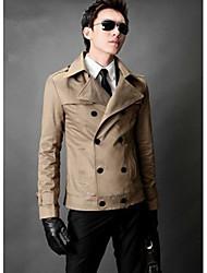 baratos -vindima casaco fino trespassado london dos homens (acc não incluído)