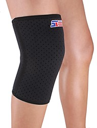 cheap -Knee Brace Sports Support Protective Compression Stretchy Fitness Black