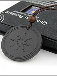 cheap -Men's / Women's Volcanic Stone Pendant Necklace - Black Necklace For Daily, Casual, Sports