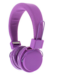 EX09I 3.5mm Stereo High Quality On-ear Headphone for PC/MP3/MP4/Telephone(Purple)