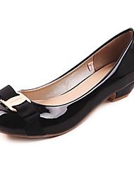 baratos -sapatos femininos bombas toe calcanhar rodada baixo sapatos mais cores disponíveis