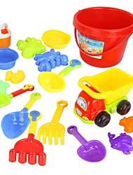 Недорогие -17 шт Красочные Различные типы Пляж игрушки Set