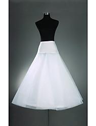 Cérémonie de mariage Occasion spéciale Déshabillés Organza Lycra Ras du Sol Robe trapèze Avec
