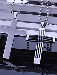 cheap -Personalized Gift Necklaces Stainless Steel Men's Business Classic Holiday Gift
