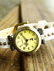 economico -Vintage Antica Roma Rivet in pelle di vitello Watch Hebe donne