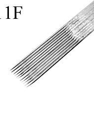 Недорогие -50pcs/box 11F татуировки стерилизовать иглы