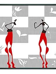 Personnes Deux filles de danse encadrée Peinture à l'huile