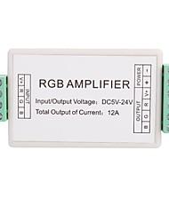 economico -3 Channel Mini regolatore amplificatore RGB LED per la luce di striscia di RGB LED (DC12V 12A 144W)