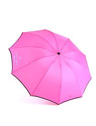 """abordables -Algodón Los aficionados y sombrillas Pedazo / Set Parasol Rojo Azul Amarillo22 4/5 """"lx 33 1/2"""" de diámetro (58 cm de largo x 85 cm de"""