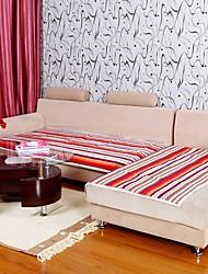 Недорогие -Элейн чистого хлопка фиолетового полоса диванную подушку 333719