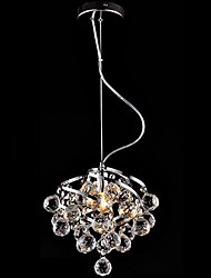 cheap -E27 5W LED Crystal Chandelier Luxurious Pendant Light for Dining-Hall Dining Room Lighting