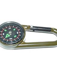 povoljno -Vanjski prijenosni Zinc Alloy Compass-Army Green