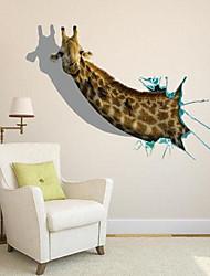 3D TheGiraffe Wall Stickers Wall Decals
