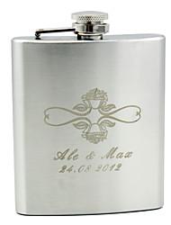 abordables -prepare los frascos de la cadera del acero inoxidable de los pares del padrino de boda wedding los regalos de boda