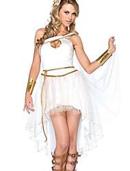 billige -Inspireret af Cosplay Athena video Spil Cosplay Kostumer Cosplay Kostumer Blonde Uden ærmer