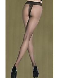 женские чулочно-носочные изделия тонкие колготки, бархат твердый черный серый черный / серый
