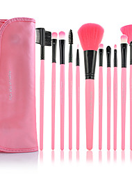 cheap -12pcs Makeup Brushes Professional Makeup Brush Set Nylon / Synthetic Hair / Artificial Fibre Brush Limits Bacteria Middle Brush