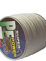 500M / 550 Yards PE Braided Line / Dyneema / Superline Fishing Line White 70LB / 80LB / 100LB 0.4;0.45;0.5 mm ForSea Fishing / Freshwater