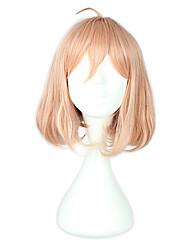economico -Parrucche Cosplay Oltre il confine Cosplay Rosa Corto Anime Parrucche Cosplay 40 CM Tessuno resistente a calore Uomo
