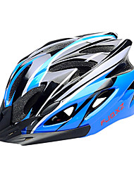 cheap -FJQXZ EPS+PC Blue and Black Integrally-molded Cycling Helmet(18 Vents)
