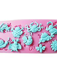 1 環境に優しい ケーキ / Cupcake / チョコレート シリコーン ベーキングモールド
