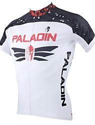 ILPALADINO Muškarci Kratkih rukava Biciklistička majica Bicikl Biciklistička majica, Quick dry, Ultraviolet Resistant, Prozračnost