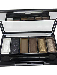 6 Colors Makeup Eye Shadow Palette (CY3207-01)