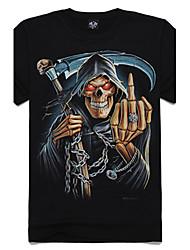 levne -m-říše 3d srp lebka bavlněné tričko