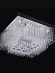 cheap -SL® Modern / Contemporary Flush Mount Ambient Light - Crystal LED, 110-120V 220-240V, White, LED Light Source Included