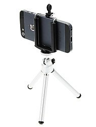 cheap -Plastic 121mm sections Cellphone Digital Camera Tripod