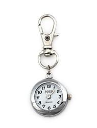 Mulheres Relógio de Bolso Quartzo Lega Banda Prata Prata