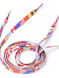 Недорогие -1 пара ЧМ-2014 Национальный флаг Шнурки (120 см)
