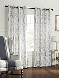 cheap -Two Panels Curtain Baroque Bedroom Polyester Material Curtains Drapes Home Decoration For Window