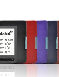 Shy Bear™ Magnet Closure Style Slim Smart PU Leather Cover Case for Pocketbook 614 / 624 / 626  Multi Color