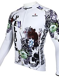 cheap -ILPALADINO Men's Long Sleeve Cycling Jersey - White Bike Jersey, Thermal / Warm, Quick Dry, Ultraviolet Resistant