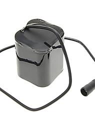 Chargeur de batterie Batterie rechargeable lithium-ion 7000 mAh AC 100-240 pour Camping/Randonnée/Spéléologie Lumière de vélo Lanterne
