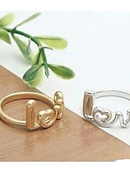 cheap -Creative Fashion Ring LOVE Letters