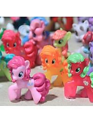 Недорогие -Мои маленькие пони Свободные Фигурки игрушки 4-6 см Pony Littlest рисунок подарок для детей