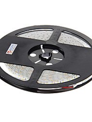 cheap -Z®ZDM Waterproof 5M 48W 600x3528 SMD Cool White Light LED Strip Lamp (DC 12V)