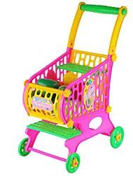 Недорогие -Малыша Фрукты Овощи Продовольственная Тележка игрушки Супермаркет Дети Kid Корзина Притворись Play игрушки 52
