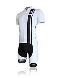 cheap -ILPALADINO Cycling Jersey with Shorts Men's Short Sleeves Bike Jersey Shorts Clothing Suits Quick Dry Ultraviolet Resistant Breathable