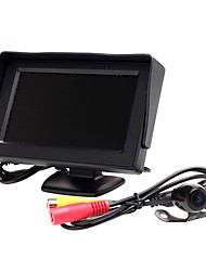cheap -4.3 inch TFT-LCD Car Reversing Monitor for Universal Two Color