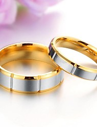 cheap -Couple's Couple Rings - Titanium Steel Fashion 5 / 6 / 7 For Wedding / Party / Daily