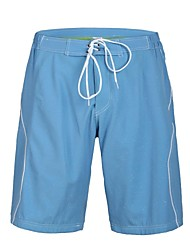 Men's Polyester Blue Shinning Surf Beach Short